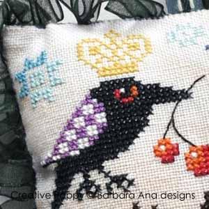 Barbara Ana Designs The Raven Scissor Fob Lg Silver